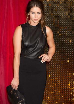 Brooke Vincent - 2015 British Soap Awards in Manchester