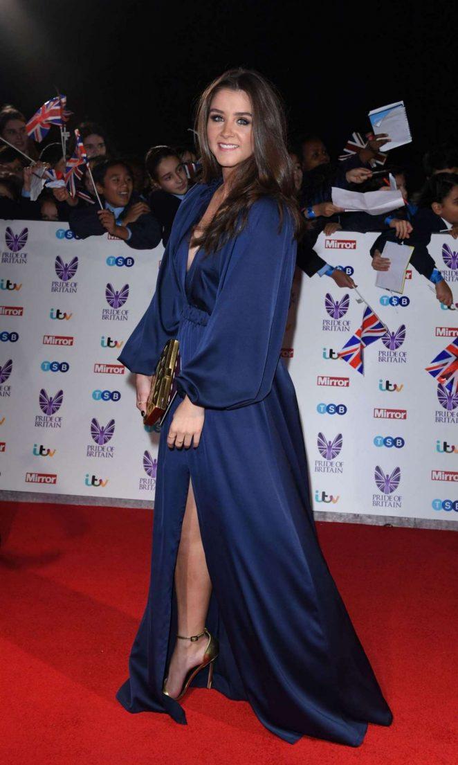 Brooke Vincent - 2016  Pride of Britain Awards in London