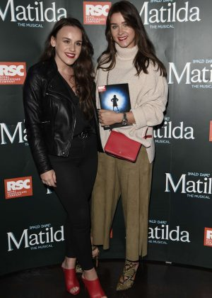 Brooke Vincent and Ellie Leech - Press night for Matilda in Manchester