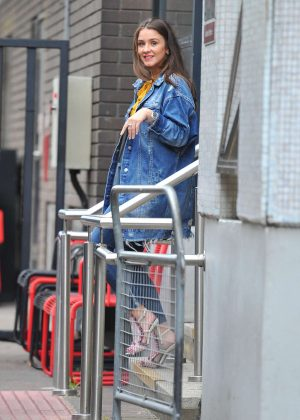 Brooke Vincent at ITV Studios in London