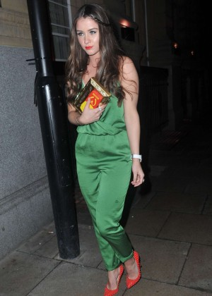 Brooke Vincent at The Rosso Restaurant In Manchester