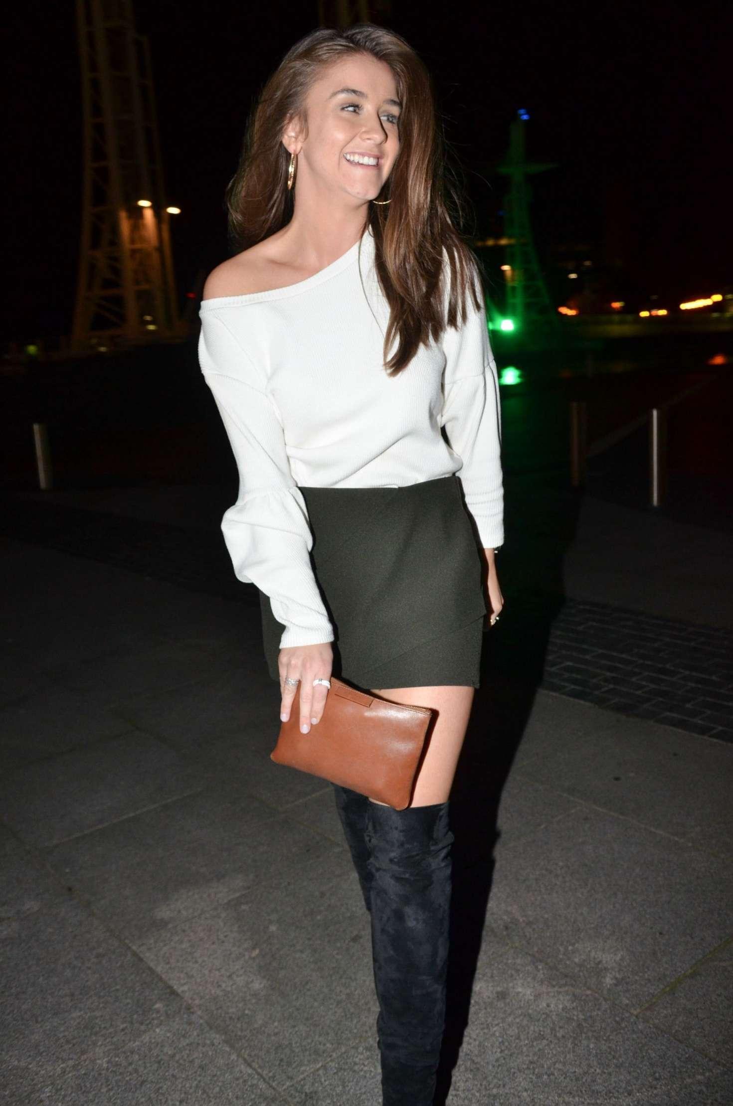 Mini Las Vegas >> Brooke Vincent in Mini Skirt -31 | GotCeleb