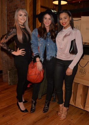 Brooke Vincent, Katie McGlynn and Tisha Merry - 883 Police Launch Party in Manchester