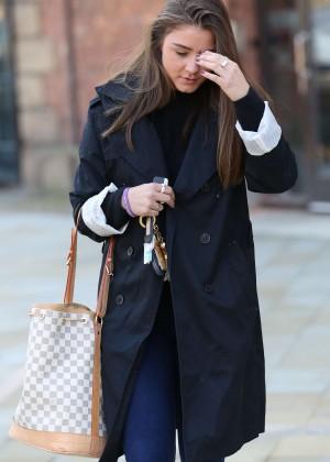 Brooke Vincent - Leaving Key 103 Radio station in Manchester
