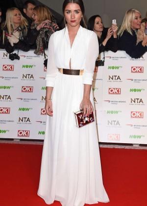Brooke Vincent - National Television Awards 2016 in London