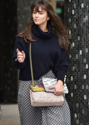 Brooke Vincent - Outside the ITV Studios in London