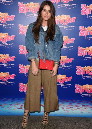 Brooke Vincent - The Wedding Singer Press Night in Manchester