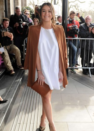 Brooke Vincent - 2015 TRIC Awards in London