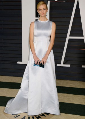 Brooklyn Decker - 2015 Vanity Fair Oscar Party in Hollywood