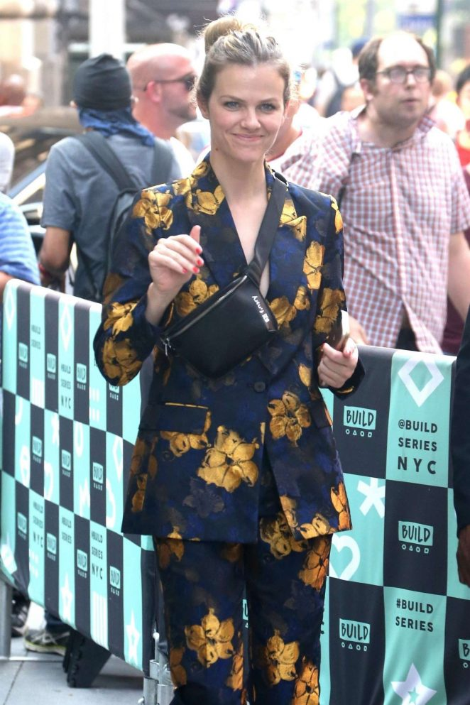 Brooklyn Decker - Arriving at AOL Build Series in New York City