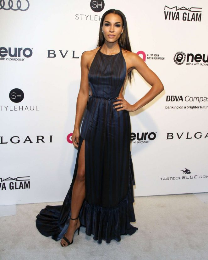 Brooklyn Sudano - 2017 Elton John AIDS Foundation's Oscar Viewing Party in West Hollywood