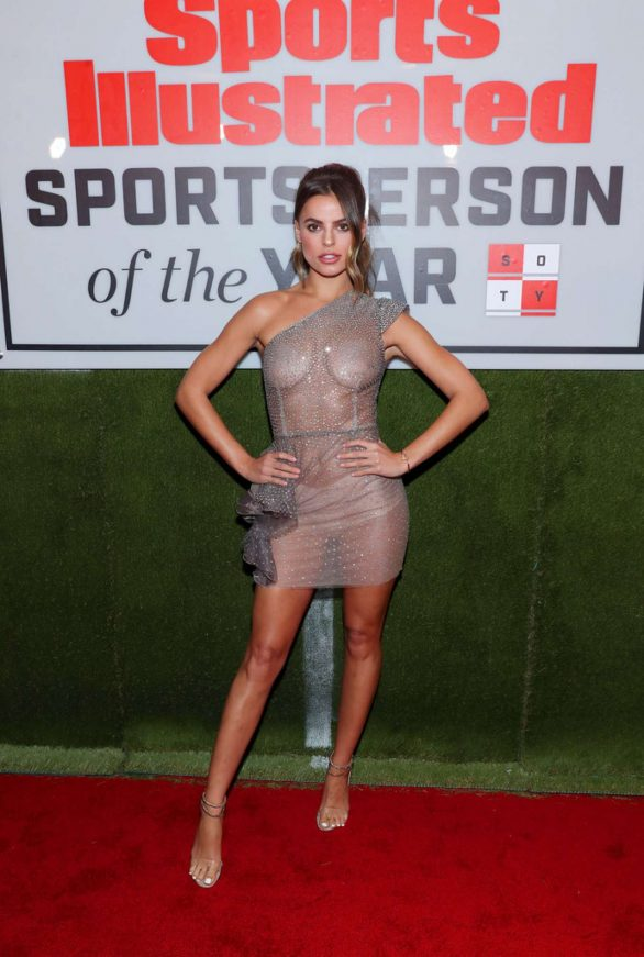 Brooks Nader - Posing at Sports Illustrated Sportsperson Of The Year 2019 in NYC