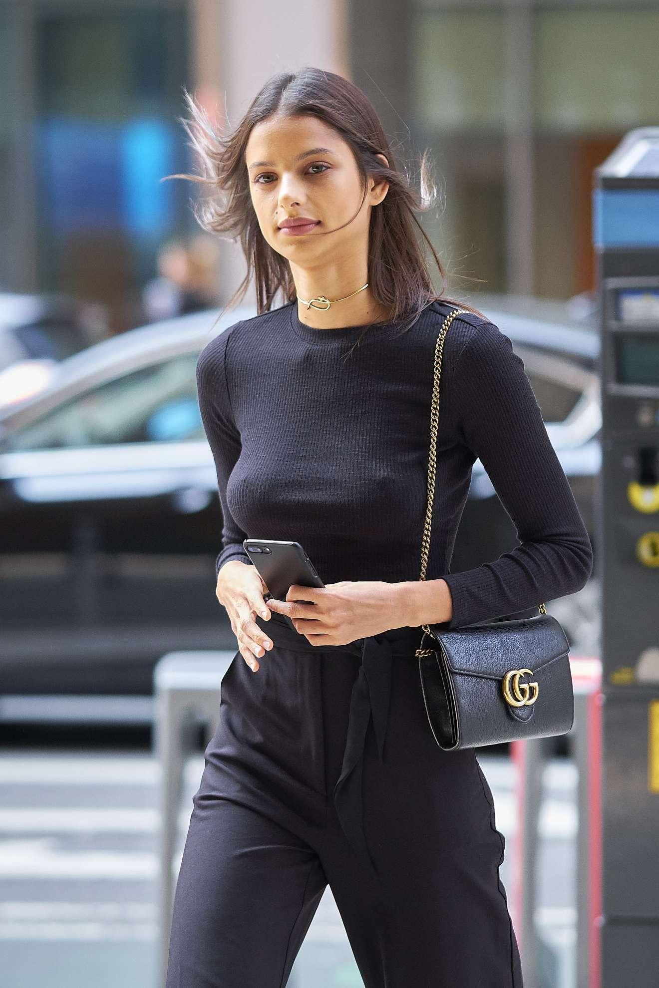 Bruna Lirio - Arrriving at Victorias Secret Fitting | GotCeleb