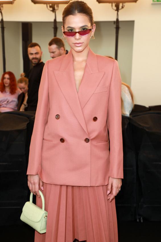 Bruna Marquezine - Acne Fashion Show at Paris Haute Couture Fall/Winter 2019/2020 in Paris