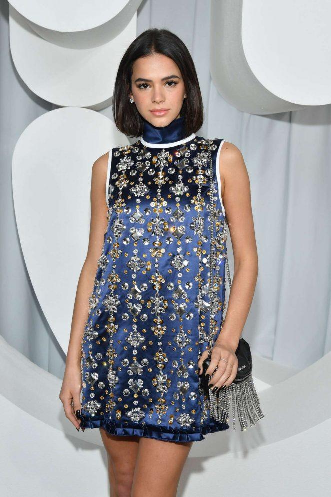 Bruna Marquezine - Miu Miu Fashion Show in Paris