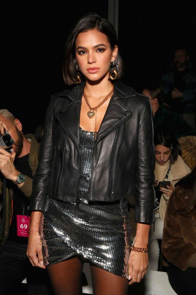 Bruna Marquezine - Rosa Cha Fashion Show in New York