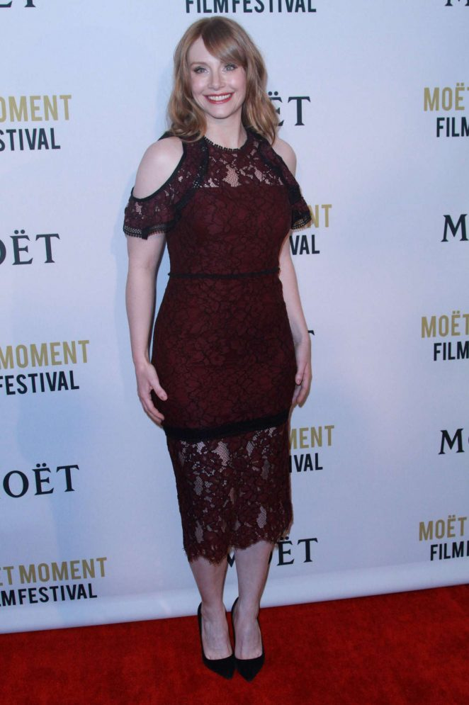 Bryce Dallas Howard: 2018 Moet Moment Film Festival -02