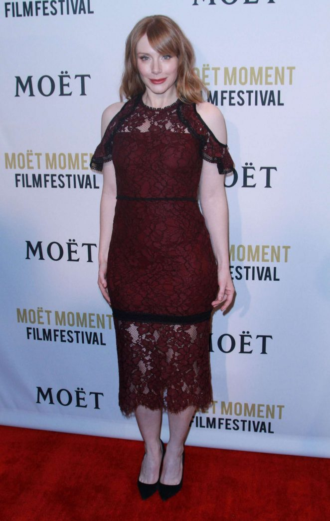 Bryce Dallas Howard: 2018 Moet Moment Film Festival -03