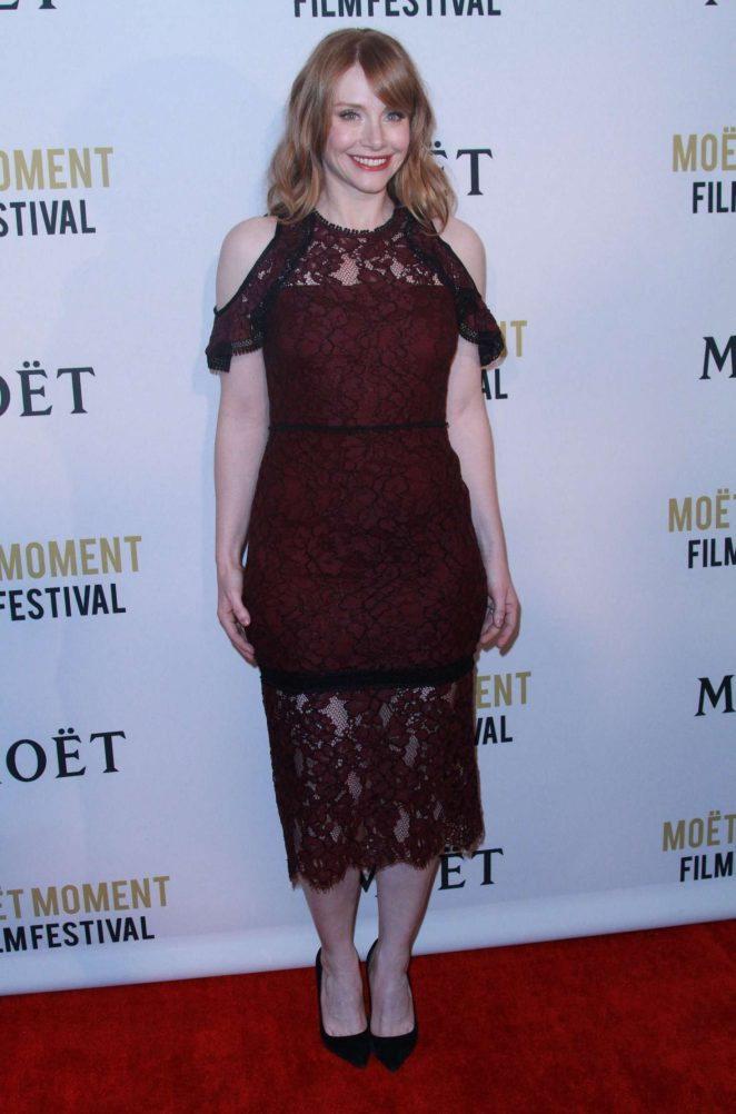 Bryce Dallas Howard: 2018 Moet Moment Film Festival -04