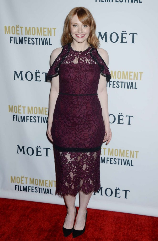 Bryce Dallas Howard: 2018 Moet Moment Film Festival -05