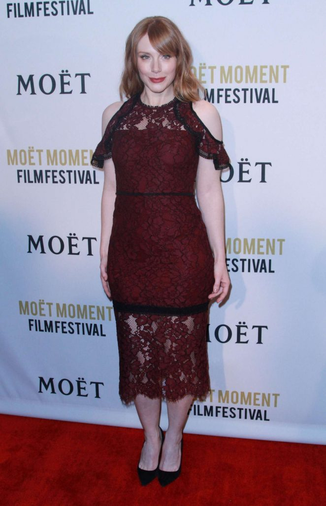 Bryce Dallas Howard: 2018 Moet Moment Film Festival -06