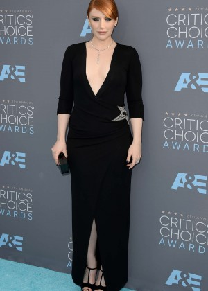 Bryce Dallas Howard - 2016 Critics Choice Awards in Santa Monica