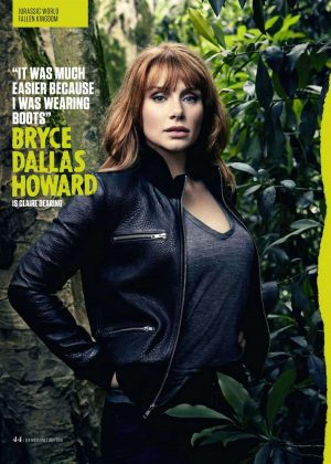 Bryce Dallas Howard and Chris Pratt - SFX Magazine (July 2018)