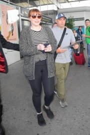 Bryce Dallas Howard - Arrives at Nice Airport in France