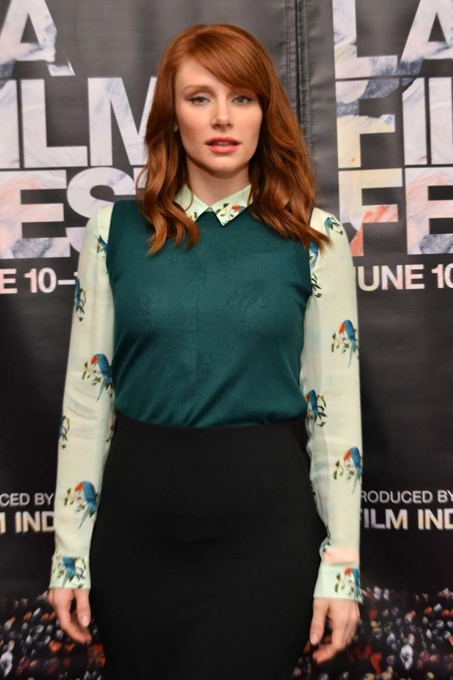 Bryce Dallas Howard - Coffee Talks Actors During the 2015 LA Film Festival