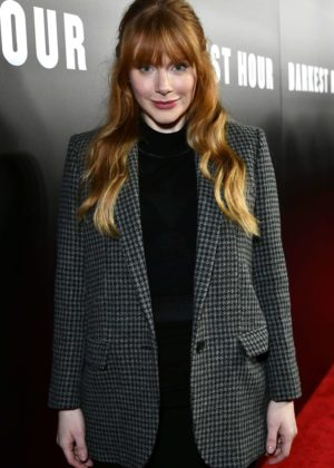 Bryce Dallas Howard - 'Darkest Hour' Premiere in Beverly Hills