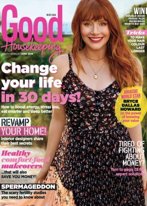 Bryce Dallas Howard - Good Housekeeping Magazine (June 2018)