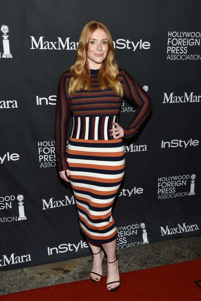 Bryce Dallas Howard: Instyle Hollywood Foreign Press Association Party 2016 -01