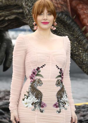 Bryce Dallas Howard - 'Jurassic World: Fallen Kingdom' Photocall in London