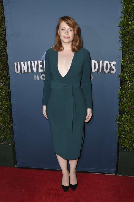 Bryce Dallas Howard - Jurassic World: The Ride Grand Opening in Hollywood
