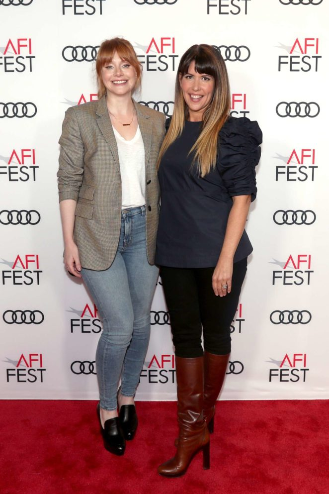 Bryce Dallas Howard - 'On Directing: Patty Jenkins' at AFI FEST 2017 in Hollywood