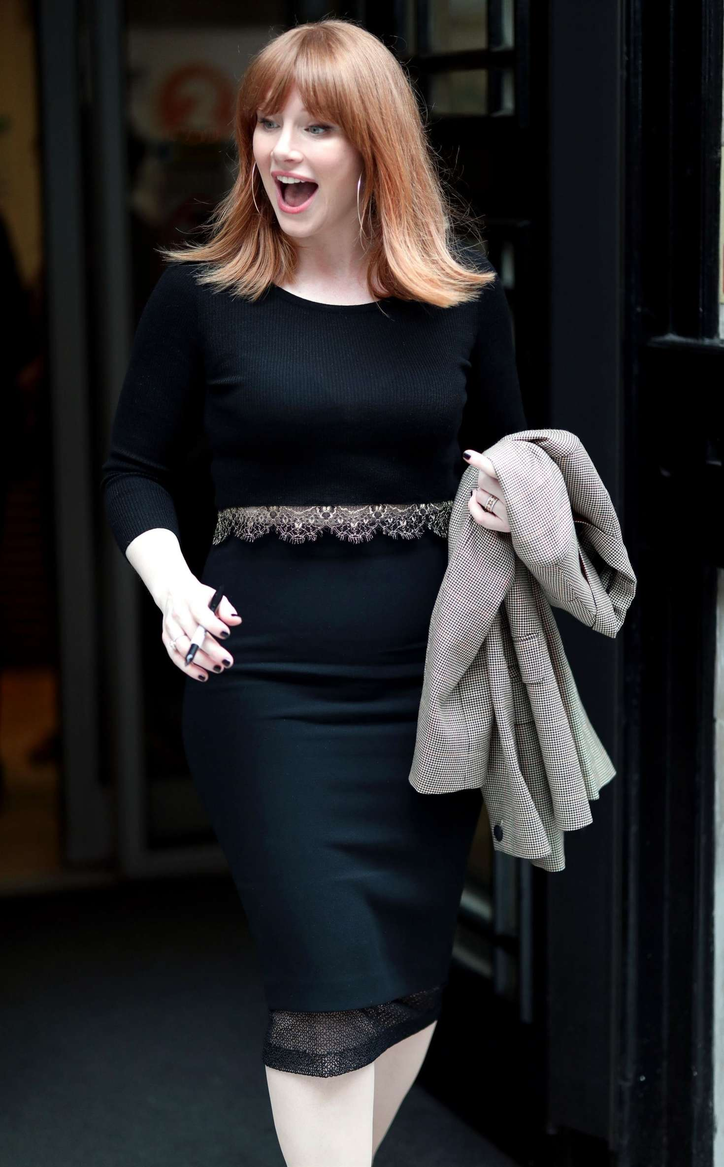 Bryce Dallas Howard on the Chris Evans Breakfast show in London