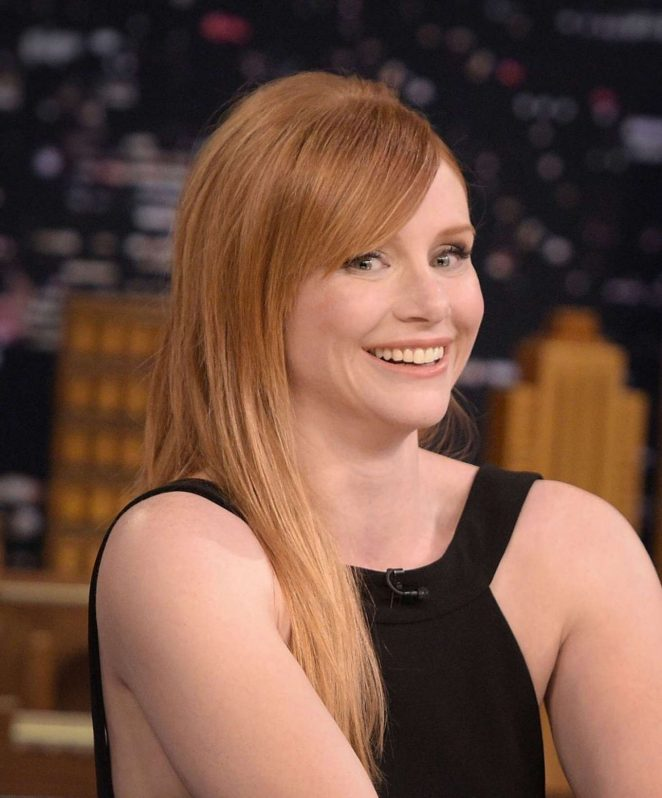 Bryce Dallas Howard On The Tonight Show Starring Jimmy