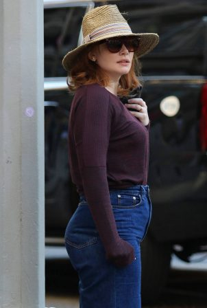 Bryce Dallas Howard - Out in New York City