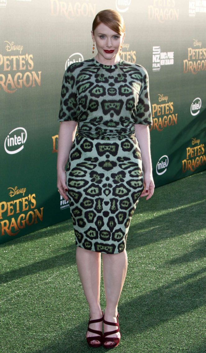 Bryce Dallas Howard - 'Pete's Dragon' Premiere in Hollywood