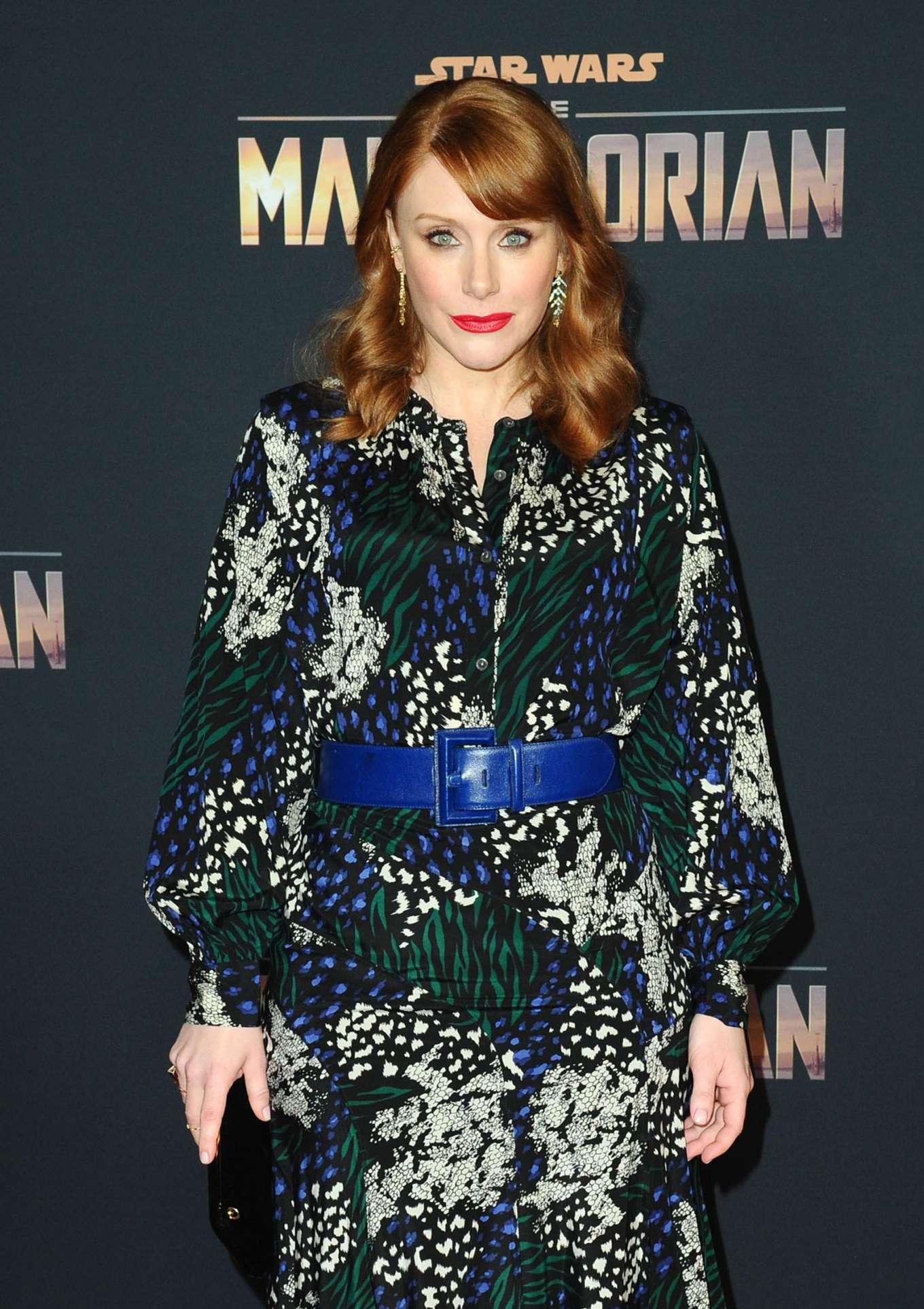 Bryce Dallas Howard - 'The Mandalorian' Premiere in Hollywood