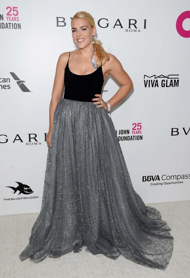 Busy Philipps – 2018 Elton John AIDS Foundation's Oscar Viewing Party in West Hollywood