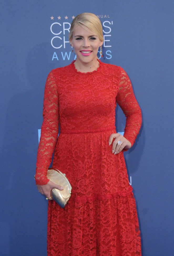 Busy Philipps - 22nd Annual Critics' Choice Awards in Los Angeles