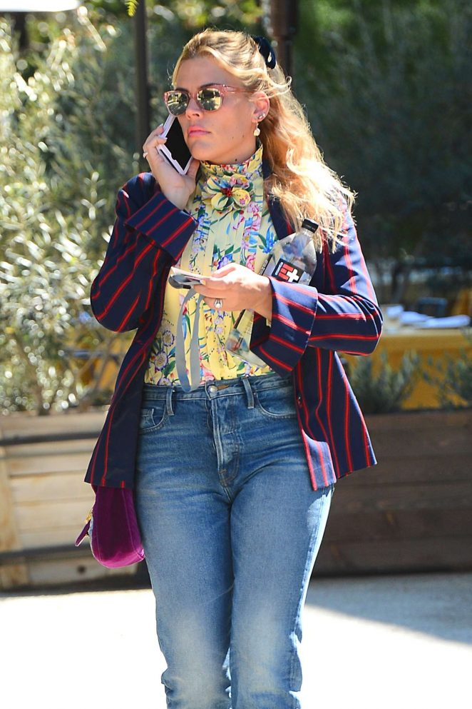 Busy Philipps – Heading to the Create and Cultivate event in LA