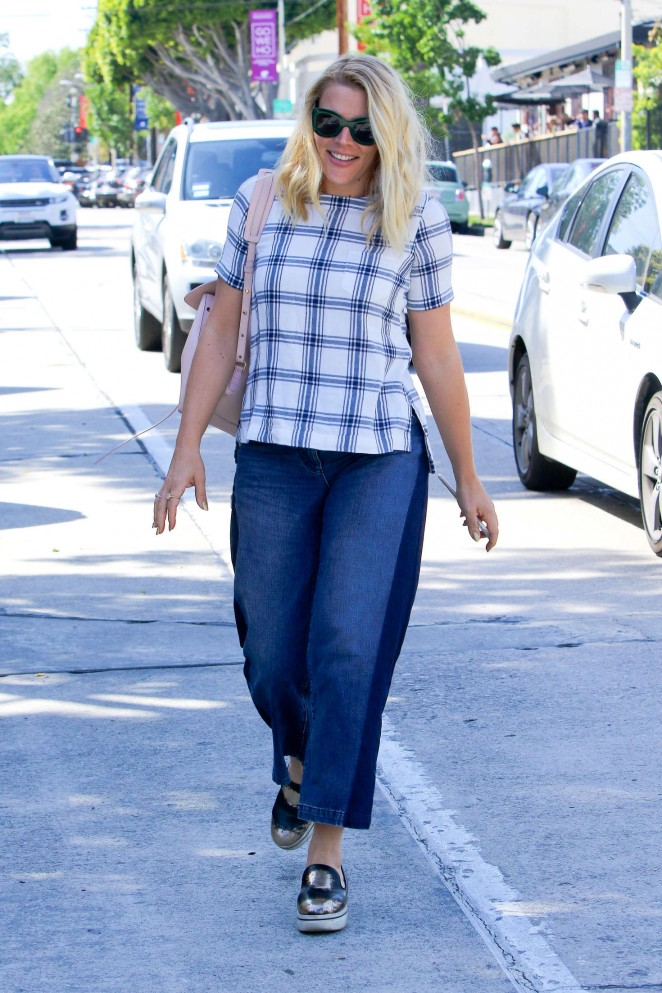Busy Philipps in Jeans at Gracias Madre -03
