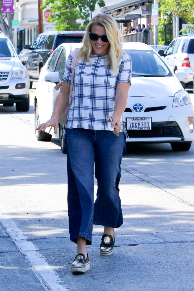 Busy Philipps in Jeans at Gracias Madre -04