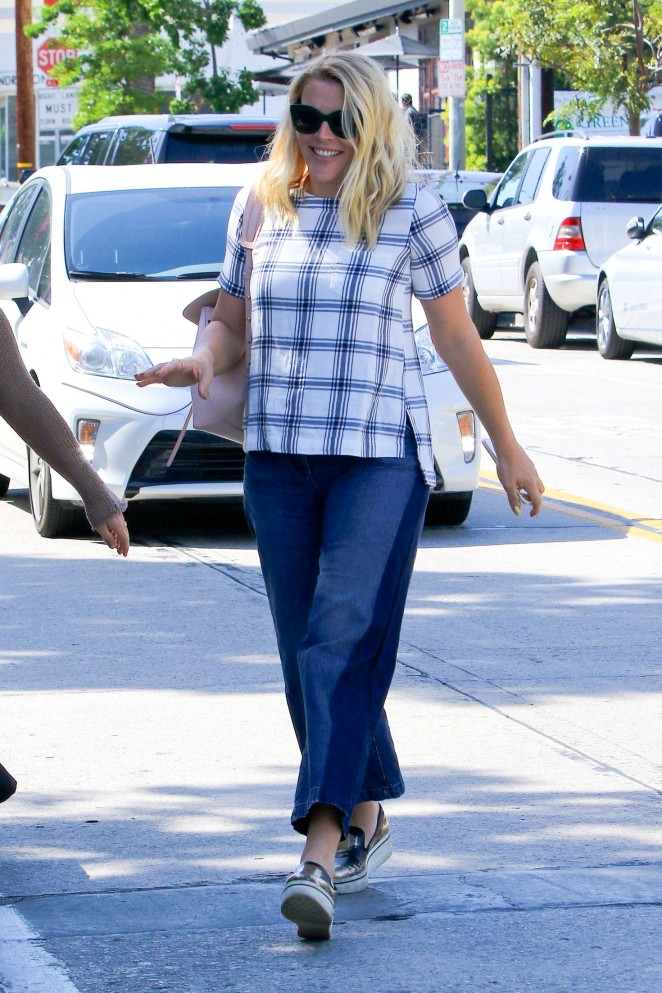 Busy Philipps in Jeans at Gracias Madre -08