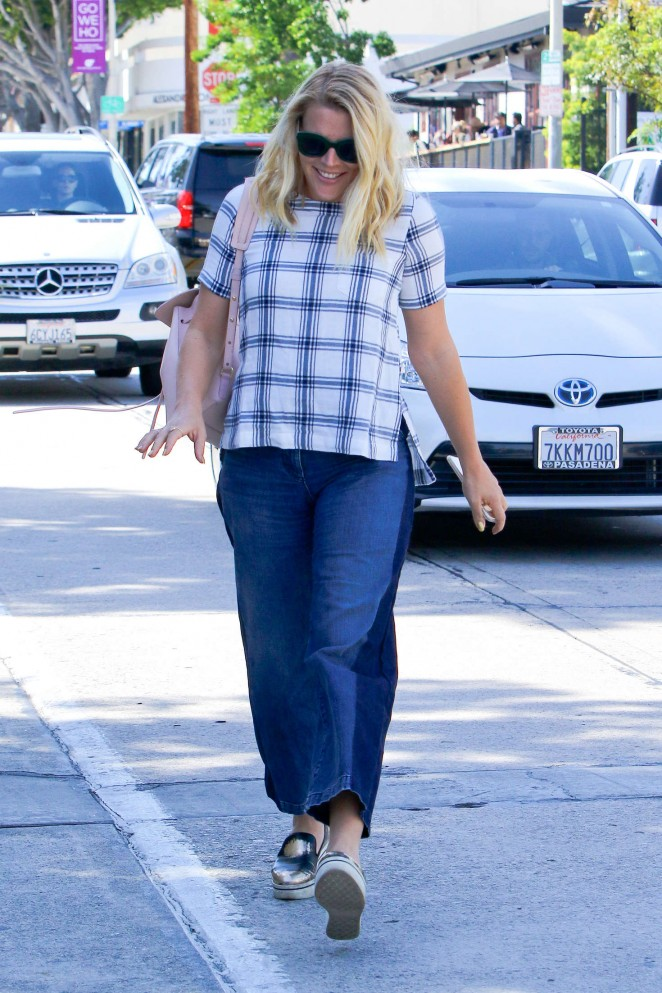 Busy Philipps in Jeans at Gracias Madre -15