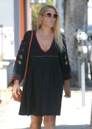 Busy Philipps in Mini Dress out in West Hollywood
