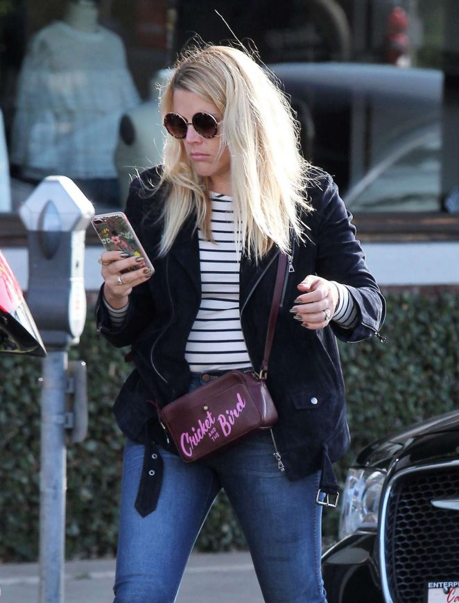 Busy Philipps out shopping in Beverly Hills
