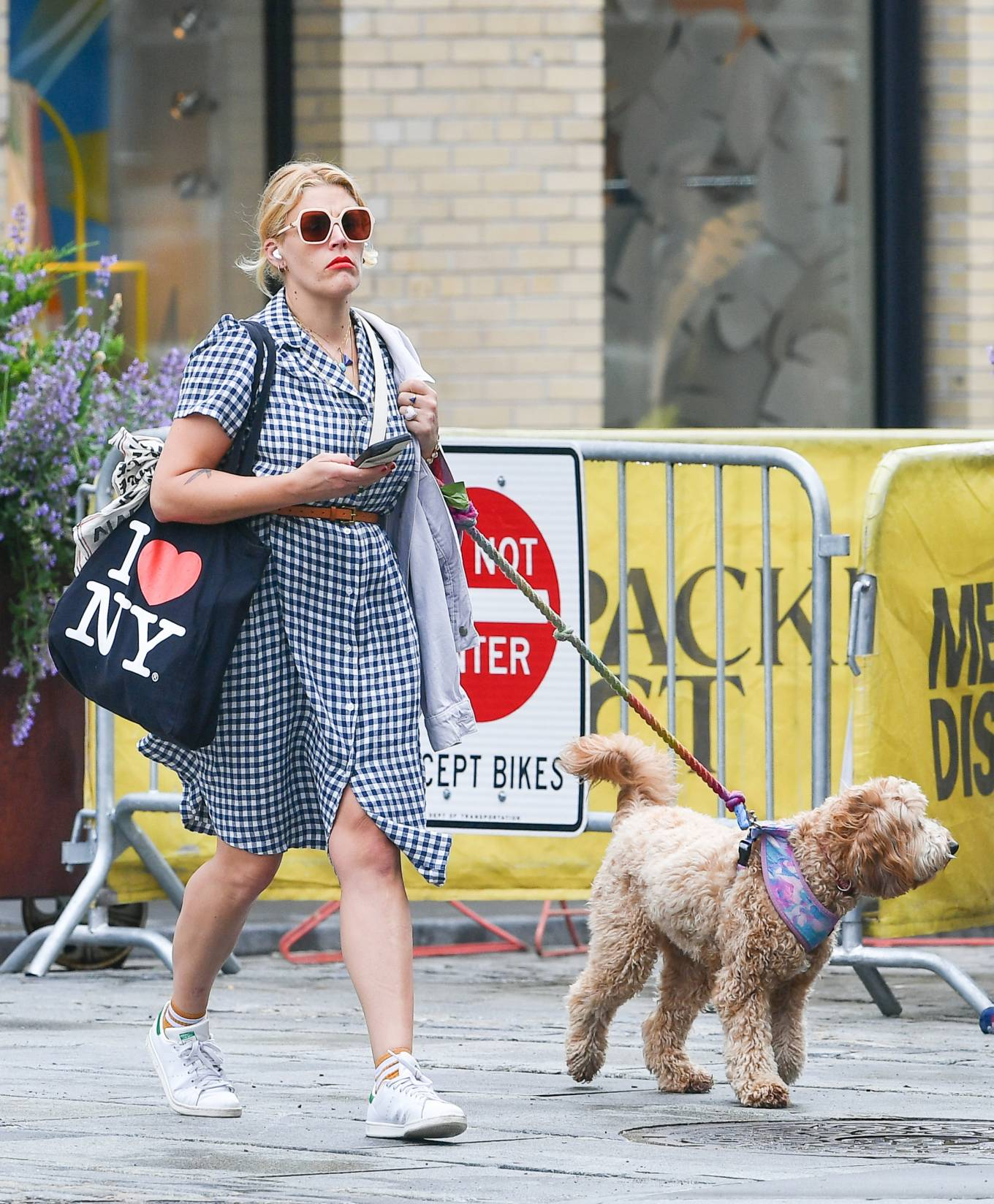Busy Philipps 2021 : Busy Philipps – Steps out in New York-02